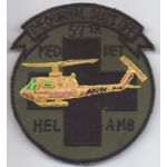 57th Medical Detachment Helicopter Ambulance Dust Off  Pocket Patch Vietnam