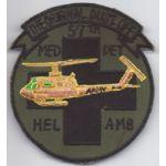 57th Medical Detachment Helicopter Ambulance Dust Off  Pocket Patch Vietnam