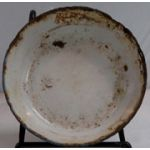 WWII Japanese Navy Enamelled Soup / Rice Bowl