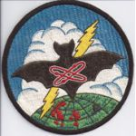 Raw Silk VQ-1 Japanese Made Squadron Patch