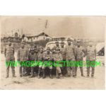 WWII Japanese Army Group Of Drivers Photo