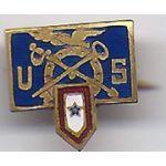 Quartermaster Son In Service Pin