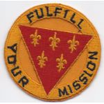 1950's- 1960's3rd Division Artillery Pocket Patch