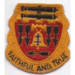 1950's- 1960's 5th Artillery Pocket Patch