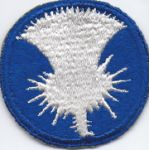 WWII 141st Ghost / Phantom Division Patch