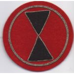 7th Division Bullion Patch