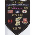 31st Field Artillery Battalion Back Patch