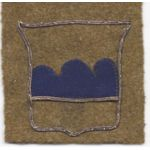 80th Division Bullion Patch