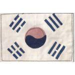 South Korean Multi-Piece Construction Flag Patch