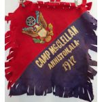 Camp McClellan 1917 Multi-Piece Wool Pillow Cover