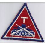 ASMIC WWII 125th Infantry Tank Company Patch