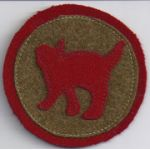 156th Field Artillery 81st Division Patch