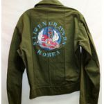 811th Aviation Engineers Korea Painted HBT Shirt