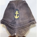 WWII Imperial Japanese Navy Black Dyed Field Cap