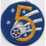5th Air Force Japanese Made  Patch