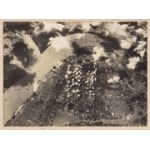 WWII Japanese Propaganda Photo Of Bombing Of Rangoon