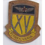 WWII Army Air Forces XV 15th Air Force Squadron Patch