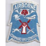 82nd Airborne Division Command & Control  Pocket Patch