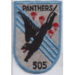 505th Airborne Infantry Regiment  Pocket Patch