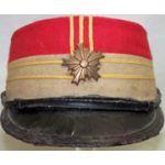 Japanese Meiji Era Imperial Guard's Childs Kepi / Visor Hat