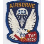 1950's 503rd Airborne Infantry Regiment Pocket Patch.